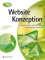 Buchdeckel Website-Konzeption